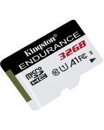 Cartão Kingston Endurance MicroSDHC UHS-I A1 C10 32GB