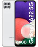 "Smartphone Samsung Galaxy A22 5G 6.6"" (4 / 64GB) 90Hz Branco"