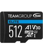 Cartão Team Group Elite MicroSDXC A1 UHS-I U3 V30 512GB
