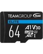 Cartão Team Group Elite MicroSDXC A1 UHS-I U3 V30 64GB