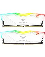 Team Group Kit 16GB (2 x 8GB) DDR4 3200MHz Delta Branco RGB CL16