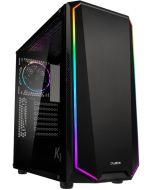 Caixa ATX Zalman K1 REV. A RGB Preta