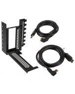 Suporte Vertical CableMod com riser para placa gráfica 2x DP