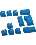 Conjunto de 11 Teclas Ducky PBT Double Shot - Azul