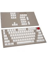 Conjunto de 104 Teclas Glorious PC Gaming Race ABS Doubleshot Branco (US)