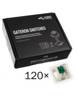 Pack 120 Switches Gateron MX Green para Glorious PC Gaming Race GMMK