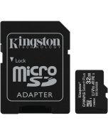 Cartão Kingston Canvas Select Plus MicroSDHC UHS-I A1 32GB