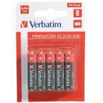 Pilhas Verbatim Alkaline AAA LR03 (10un)