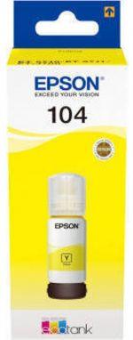 Tinteiro Epson 104 EcoTank 65ml Amarelo