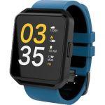 Smartwatch FitGo FW15 Square Azul / Preto