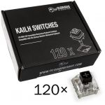 Pack 120 Switches Kailh Box Black para Glorious PC Gaming Race GMMK