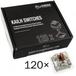 Pack 120 Switches Kailh Speed Bronze para Glorious PC Gaming Race GMMK