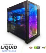 Computador King Mod Liquid Beast Clear i7 16GB 512GB RTX 2060 SUPER