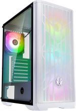 Caixa ATX BitFenix Nova Mesh TG SE A-RGB, Vidro Temperado - Branco