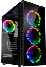 Caixa ATX Kolink Observatory Lite RGB Vidro Temperado