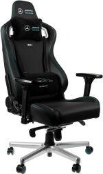 Cadeira noblechairs EPIC PU Leather Mercedes-AMG Petronas Formula One Team