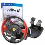 Bundle Thrustmaster T150 Ferrari Edition + WRC8 PS4