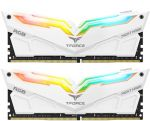 Team Group Kit 32GB (2 x 16GB) DDR4 3200MHz Night Hawk Branco RGB CL16