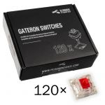 Pack 120 Switches Gateron MX Red para Glorious PC Gaming Race GMMK