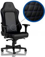 Cadeira noblechairs HERO PU Leather Preto / Azul