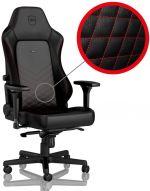 Cadeira noblechairs HERO PU Leather Preto / Vermelho