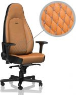 Cadeira noblechairs ICON Real Leather Cognac / Preto