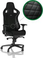 Cadeira noblechairs EPIC PU Leather Preto / Verde