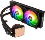 Cooler CPU a Água Raijintek Eos RGB Rainbow 240mm
