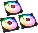 Ventoinha Raijintek EOS 12 Rainbow ARGB PWM (Pack 3 + Controlador) - 120mm