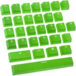 Conjunto de 31 Teclas de Borracha Ducky Double Shot, Backlight - Verde
