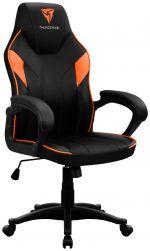 Cadeira Gaming ThunderX3 EC1 - Preto/Laranja