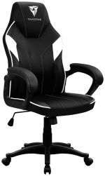 Cadeira Gaming ThunderX3 EC1 - Preto/Branco