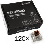 Pack 120 Switches Kailh Box Brown para Glorious PC Gaming Race GMMK