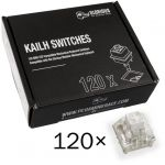 Pack 120 Switches Kailh Box White para Glorious PC Gaming Race GMMK