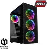 Computador King Mod Gamer MSI R5 16GB 1TB GTX 1650 WIFI