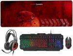 Teclado+Rato+Headset+Tapete XL Mars Gaming MCPRGB2 (PT)