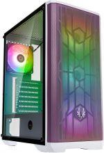 Caixa ATX BitFenix Nova Mesh TG SE A-RGB, Vidro Temperado - Branco/Lilás