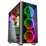 Caixa E-ATX Kolink Observatory Branco RGB Vidro Temperado