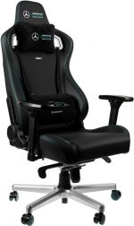 Cadeira noblechairs EPIC PU Leather Mercedes-AMG Petronas Formula One Team