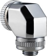 Conector 90º Phanteks G1/4 16mm - Cromado