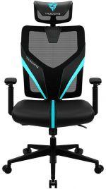Cadeira Gaming ThunderX3 YAMA 1 - Preto/Turquesa
