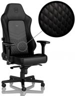 Cadeira noblechairs HERO Real Leather Preto