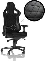 Cadeira noblechairs EPIC PU Leather Preto